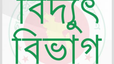 Photo of চাহিদার তুলনায় উৎপাদন ক্ষমতা বেশি থাকায় লোডশেডিংয়ের শঙ্কা নেই : বিদ্যুৎ বিভাগ